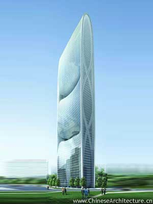 Photo of Pearl River Tower in Guangzhou, Guangdong