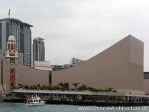 Hong Kong Cultural Centre in Kowloon, Hong Kong S.A.R.