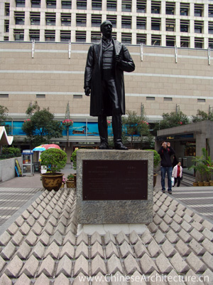 Photo of Sir Thomas Jackson Statue in Hong Kong, Hong Kong S.A.R.