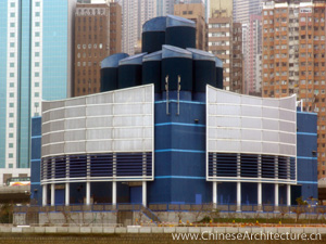 Western Harbour Crossing Ventilation Building in Hong Kong, Hong Kong S.A.R.